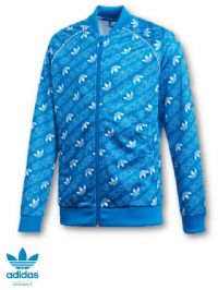 Junior Adidas Originals Trefoil Print Track Top (DI0262) (Option 1) x6: £16.95